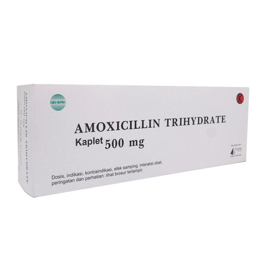 Amoxicillin Kaplet & Syrup