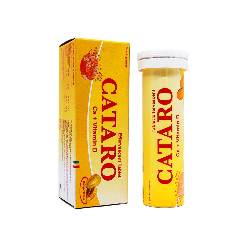 Cataro Tablet Effervescent