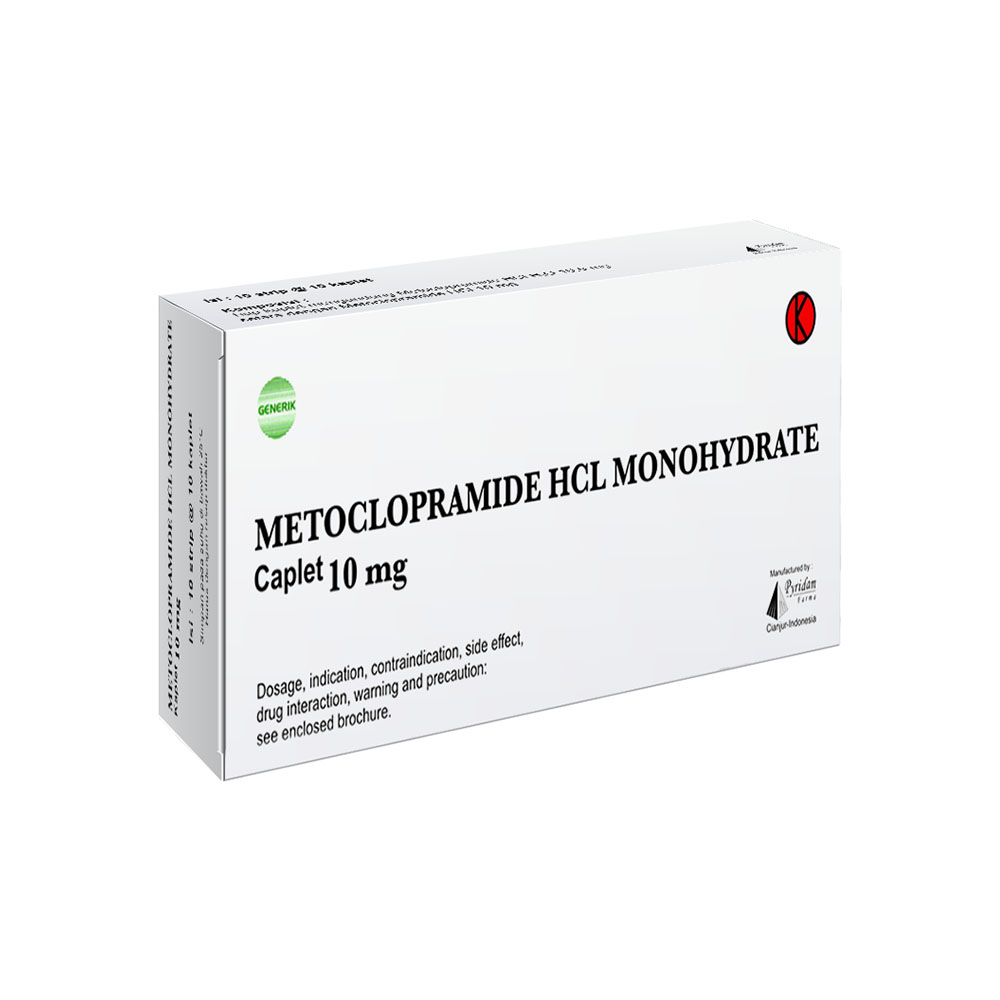 Metcolopramide HCL Monohydrate