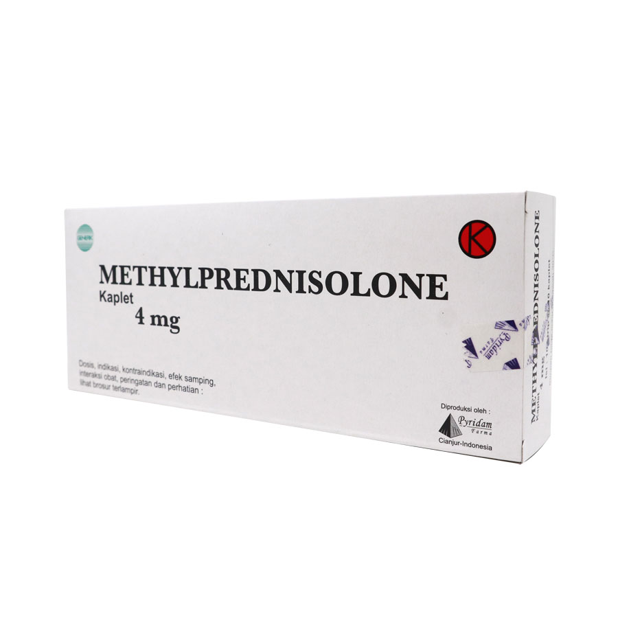 Methylprednisolone - 4, 8, 16 mg