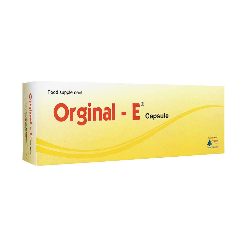 Orginal E Kapsul